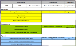 concurrent periodisation