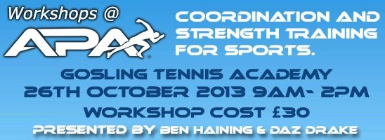 Coordination and strength training