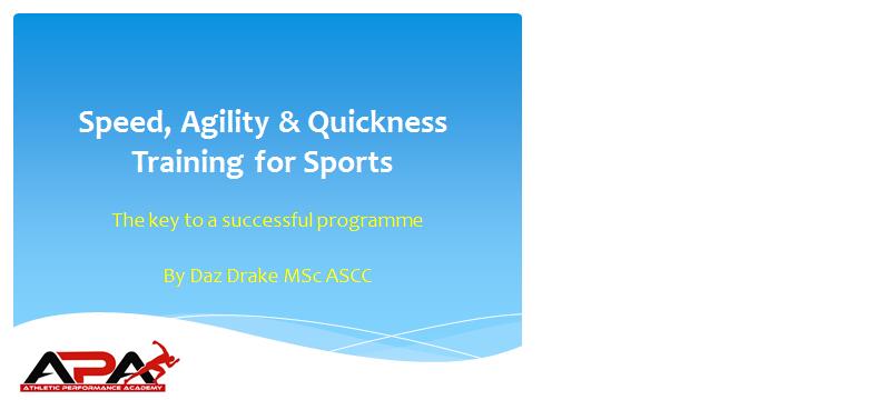 SAQ for Sports